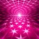 Étoiles disco qui tournent