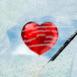 Un coeur derrière la glace