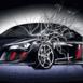 Audi R8 heurte votre écran
