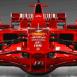 Ferrari F1 rouge