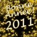 """""""Bonne année 2011"""" en or massif"""