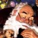 Père Noël endormi