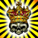 Crâne de squelette royal