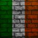 Mur aux couleurs de l'Irlande