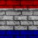Mur aux couleurs des Pays-Bas