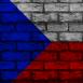 Mur aux couleurs de la République Tchèque