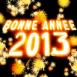 Feu d'artifice bonne année 2013