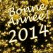 """""""Bonne année 2014"""" en or massif"""