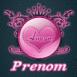"""Blason néon rose """"Amour"""""""