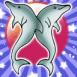Deux petits dauphins mignons