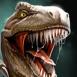 Tyrannosaure rugissant