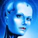 Femme robot mystérieuse