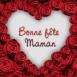 Coeur de roses fête des mères
