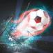 Ballon de feu qui explose l'écran