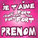 """Je t'aime fort fort fort"""