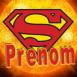 Superman sur soleil orange