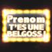 """""""T'es une belgoss!"""" Néon jaune"""