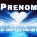 """Coeur nuageux """"Avec toi je suis au paradis"""""""