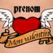 """Tatouage vintage """"Mon valentin"""""""