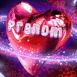 Coeur avec anneau d'�toiles