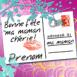 "Carte Postale ""Bonne fête ma maman chérie"""