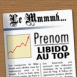 "Couv' de Journal: ""Pr�nom"" Libido au top"