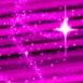 Ciel étoilé rose