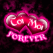"""""""Toi Moi FOREVER"""" fluo rose"""