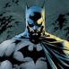 Buste de Batman sur fond gris
