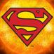 Superman et soleil orange