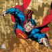 Superman prenant son envol