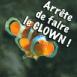 """Poisson clown """"Arr�te de faire le clown"""""""