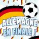Allemagne en finale!