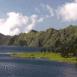 Lac et volcan (Bali)