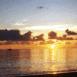 Coucher de soleil sur la mer (Mayotte)
