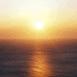 Coucher de soleil sur la mer (Corse)