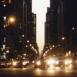 New York: rue le soir