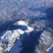 Alpes, vue du ciel