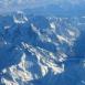 Montagnes, vue du ciel 6