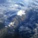 Montagnes, vue du ciel 8