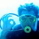 Plongeur faisant le signe Tout va bien