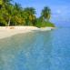 Plage f��rique des Maldives
