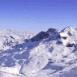 Montagnes enneigées (Alpes-Vanoise)
