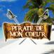"Plage ""Pirate de mon coeur"""