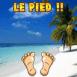 """Plage paradisiaque """"Le pied"""""""