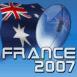 Ballon de rugby France 2007: Australie