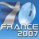 Ballon de rugby France 2007: Écosse
