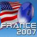 Ballon de rugby France 2007: États Unis