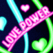 """Love power"" fluo"