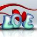 """""""Love"""" effet 3D"""